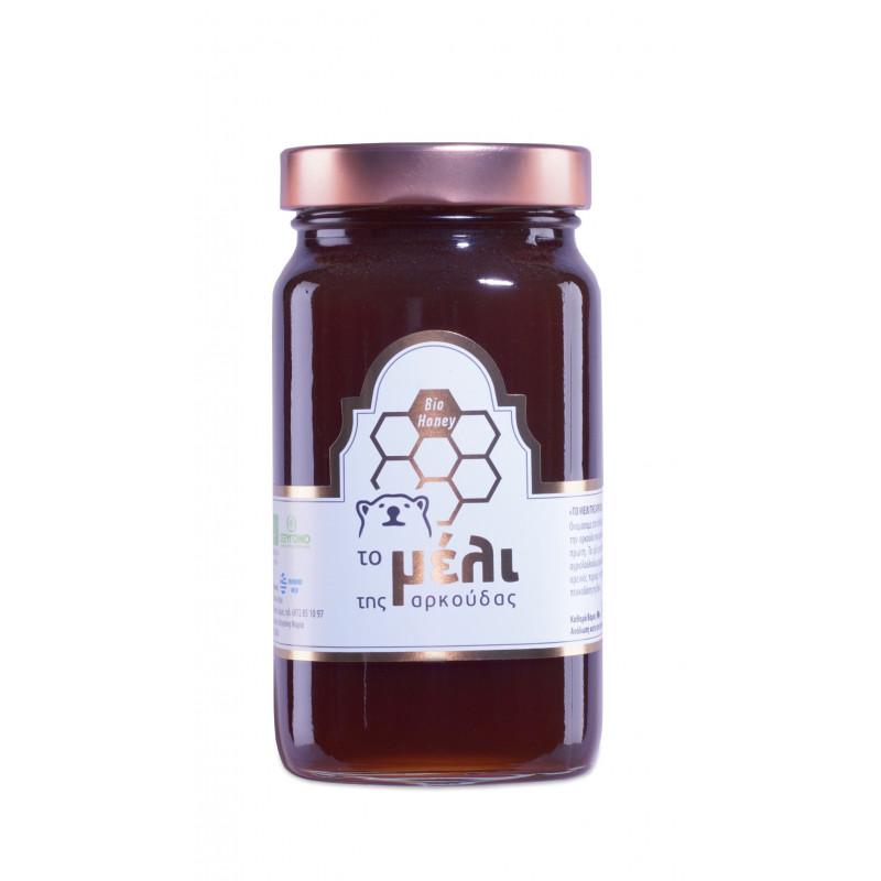 Βιολογικό Μέλι με Μαύρο Σκόρδο spicy Black garlic
