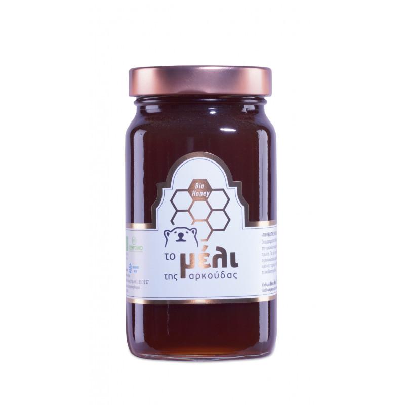 Βιολογικό Μέλι με Μαύρο Σκόρδο spicy